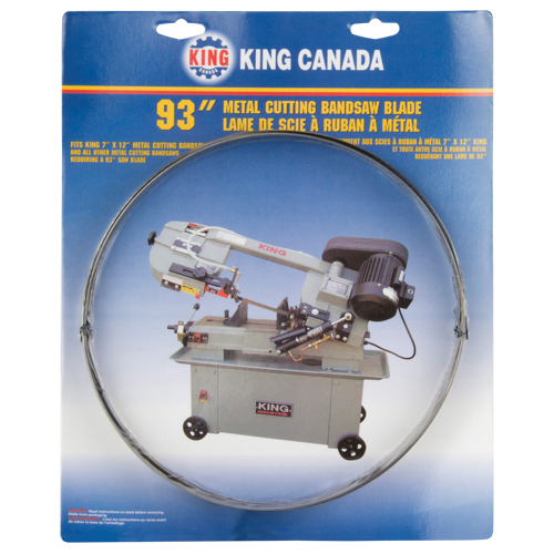 KING CANADA Metal Cutting Bandsaw Blade BV719 KBB 712 10