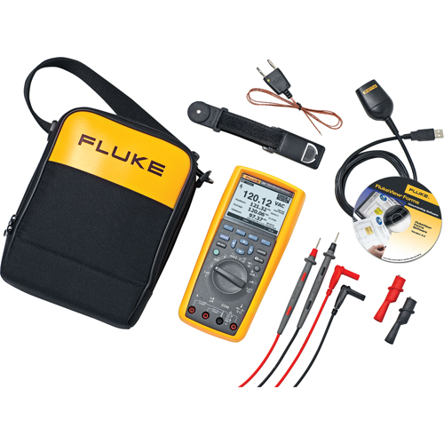 FLUKE 289 FlukeView® Forms True-RMS Data Logging Multimeter Kit IA819  (289/FVF) | Shop Multimeter | TENAQUIP