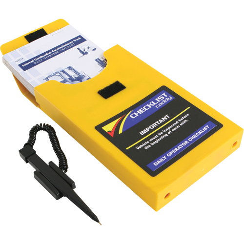 Replacement Checklist Caddy for Propane Counterbalance Material Handling Products
