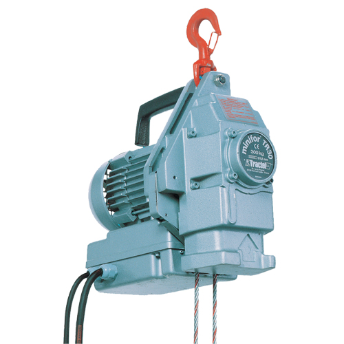 Electric Wire Hoist | Tractel Minifor Portable Electric Wire Rope Hoist Tr30 Nis