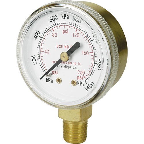 Brass Gauges NT617 | NIS Northern Industrial Sales