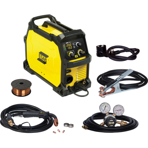 ESAB Rebel EM 215ic Portable Welding Machine NV069 (558102436) | Shop MIG  Welding Machines | TENAQUIP
