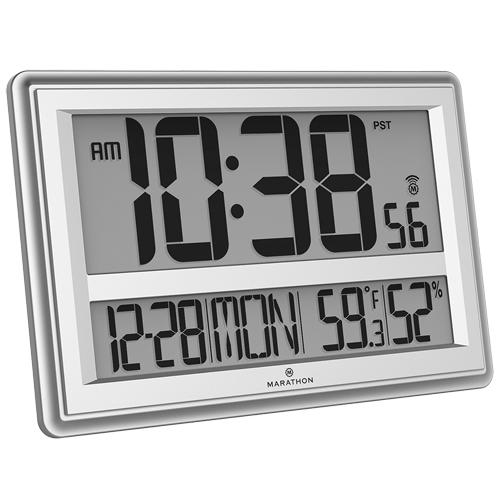Marathon Murale Op591cl030056sv Grande Horloge Atomique WrCQBdxoe