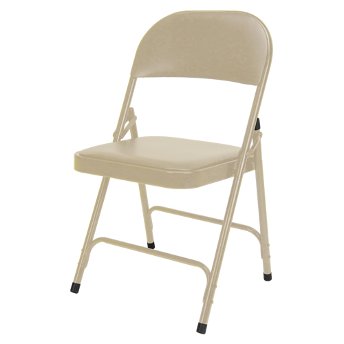 Vinyl Padded Folding Chair OP963 | NIS Northern Industrial Sales