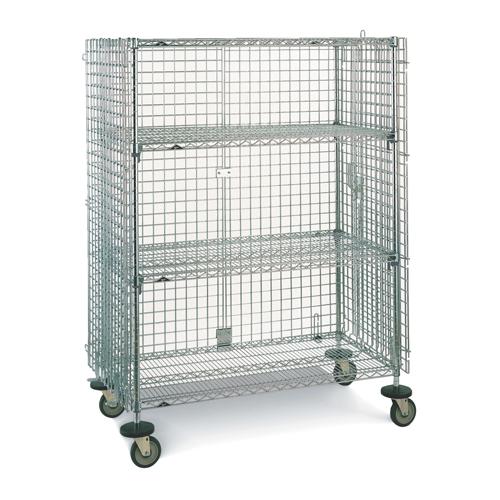Wire Shelf Cart   Metropolitan Wire Wire Shelf Cart Rl390 Sec33ec Shop Wire Mesh