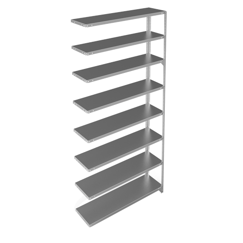 new style e4699 71e92 METALWARE Slotted Angle Shelving Unit RN244 | Shop Shelving Unit | TENAQUIP