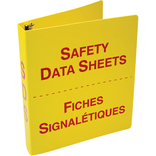 ACCUFORM SIGNS MSDS And SDS Binders SEJ567 (FBZRS642