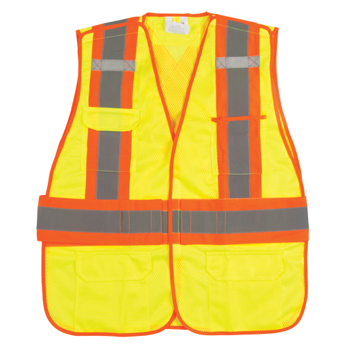 Traffic Vests CSA Compliant Surveyor SEK232 | TENAQUIP