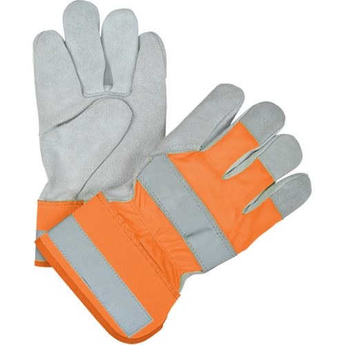 Premium Quality High-Viz Split Cowhide Fitters Thinsulate ™ Lined Gloves SEK238 | TENAQUIP