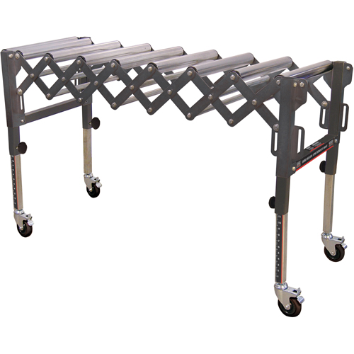 Extendable & Flexible Conveyor Roller Tables TEX194 | NIS Northern Industrial Sales