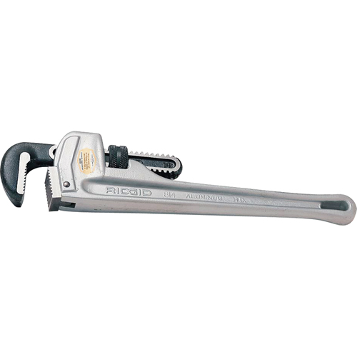 Aluminum Handle Straight Pipe Wrench TR012 | NIS Northern Industrial Sales