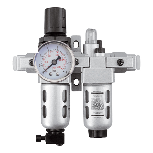 Modular Filter/Regulator & Lubricator (Gauge Included) TYY180 | NIS Northern Industrial Sales