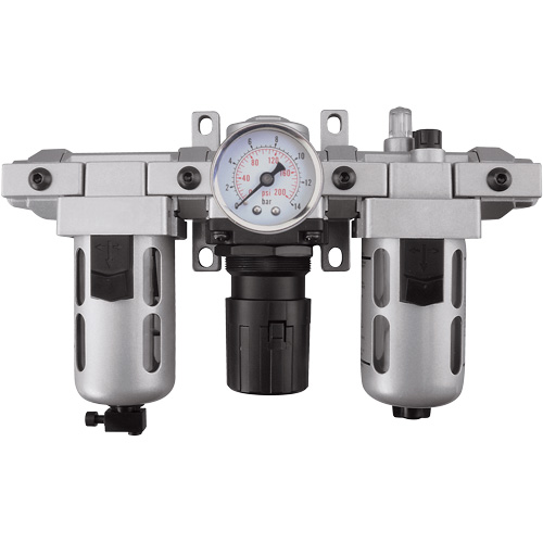 Modular Filter, Regulator & Lubricator (Gauge Included) TYY183 | NIS Northern Industrial Sales