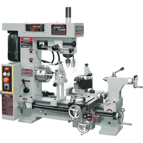 King Canada Combo Lathemilling Machine Uad695 Kc 1620clm Shop