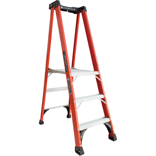 Industrial Extra Heavy-Duty Fibreglass Pro Platform Stepladders (FXP1800 Series) VD414 | NIS Northern Industrial Sales
