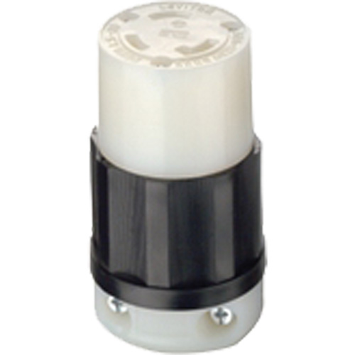 LEVITON Leviton's Industrial Specification Grade Locking Devices XA885  (2613)   Shop Locking Plug Connector   TENAQUIP
