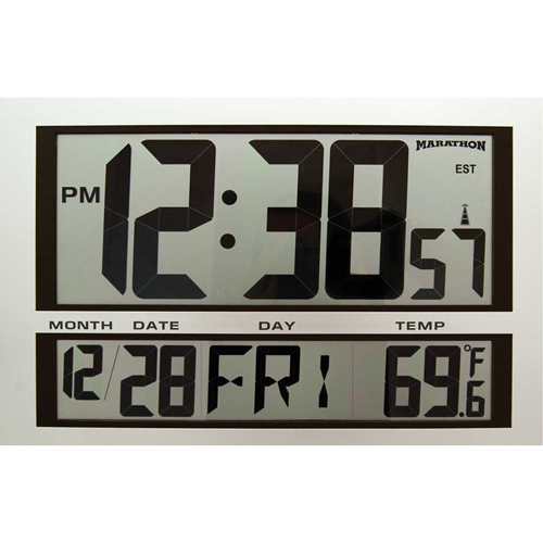 Jumbo Digital Wall Clock XD075 | NIS Northern Industrial Sales
