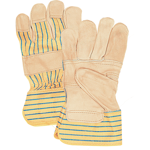 Grain Cowhide Fitters Patch Palm Gloves SAP230 | NIS Northern Industrial Sales