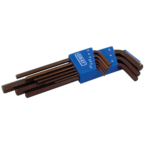 Long Arm Hex Key Set YC455 | NIS Northern Industrial Sales