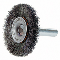 "Crimped Wire Wheel Brush with 1/4"" Shank BW753 