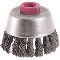 Knot Wire Cup Brushes - High Speed Small Grinder BX653 | NIS Northern Industrial Sales