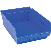 Blue Plastic Shelf Bin CB399 | TENAQUIP