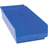 Blue Plastic Shelf Bin CB402 | TENAQUIP
