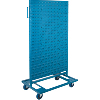 Mobile Bin Racks - Double Sided - Rack & Bin Combination CB649 | TENAQUIP