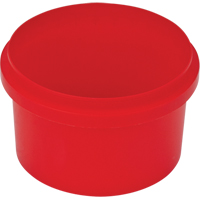 8 OZ CONTAINER - RED NOLID CF515 | NIS Northern Industrial Sales