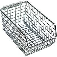 Wire Mesh Hanging & Stacking Bins | NIS Northern Industrial Sales