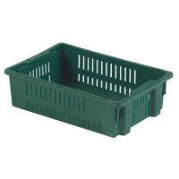 Agricultural Plastic Stack-N-Nest Container CF929 | NIS Northern Industrial Sales