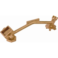 Bung Nut Wrenches - Non-Sparking, Manganese Bronze Alloy DA637 | NIS Northern Industrial Sales