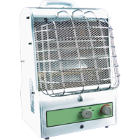 Portable Fan Forced/Radiant Utility Heaters EA466 | NIS Northern Industrial Sales