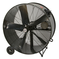 Heavy-Duty Fixed Belt Drive Drum Fan EA662 | TENAQUIP