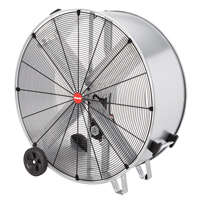 Galvanized Steel Belt Drive Drum Fan EA673 | TENAQUIP