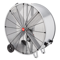Galvanized Steel Belt Drive Drum Fan EA674 | TENAQUIP