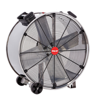 Stainless Steel Direct Drive Drum Fan EA759 | TENAQUIP