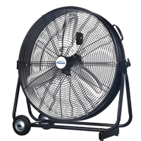 Light Industrial Direct-Drive Slim Drum Fan EA778 | TENAQUIP