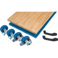 Mobile Cabinet Benches- Assembly Kits, Single FH407 | NIS Northern Industrial Sales