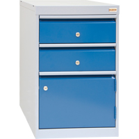 2-Drawer w/1-Door Cabinet FH668-A | TENAQUIP