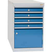 4-Drawer w/ 1-Door Cabinets FH670-A | TENAQUIP