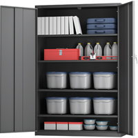 All-Welded X-Wide Hi-Boy Storage Cabinet FJ860 | NIS Northern Industrial Sales