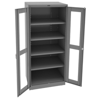 Deluxe C-Thru Storage Cabinet FL650 | NIS Northern Industrial Sales