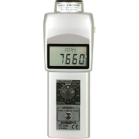 Tachometer non-contact LCD display HF516 | TENAQUIP