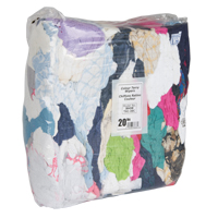 RAG RECYCLED 20 LBS BAG COLOURED TERRY JB458 | NIS Northern Industrial Sales