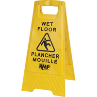 Bilingual Safety Wet Floor Sign JD391 | NIS Northern Industrial Sales