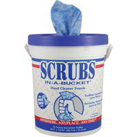 Scrubs In- A- Bucket® Hand Cleaner Towels JG707 | NIS Northern Industrial Sales