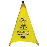Bilingual Pop-Up Safety Cone JI455 | NIS Northern Industrial Sales