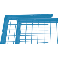 Wire Mesh Partition Components - Adjustable Filler Panels KD118 | NIS Northern Industrial Sales