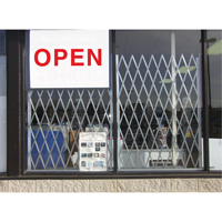 Storefront Window Gates KH880 | NIS Northern Industrial Sales